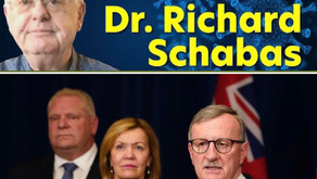 Ontario's previous top doc Schabas takes on Williams & Ford  lockdown misinformation
