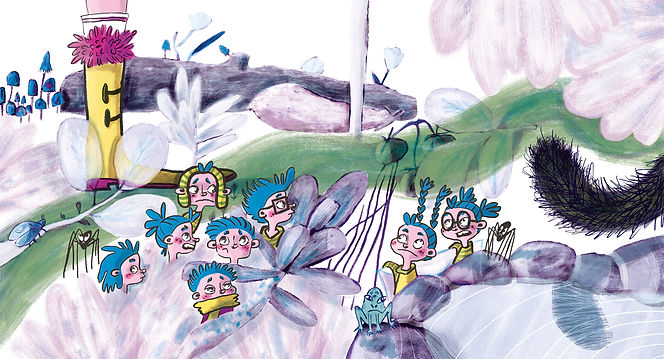 kleurrijke illustraties