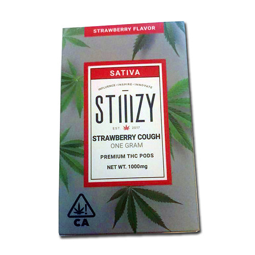 Sando Design - 1000mg - Stiiizy Strawberry Cough Cartridge