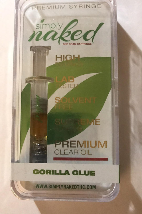 1000mg - Simply Naked Gorilla Glue Syringe