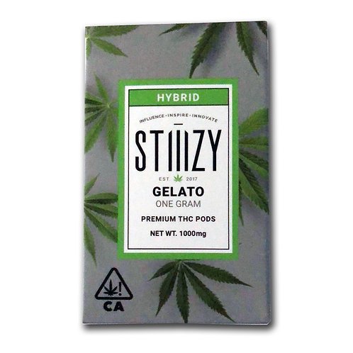 Cap Design - 1000mg - Stiiizy Gelato Cartridge