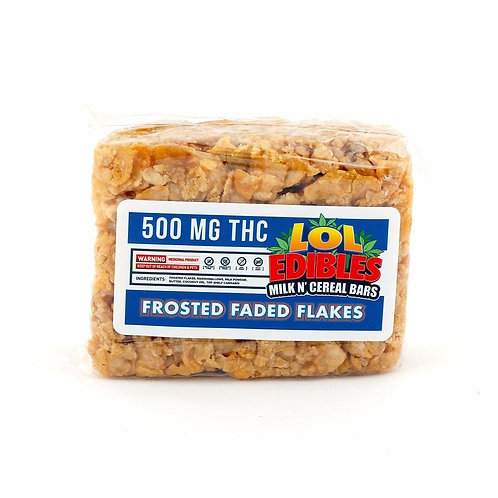 500mg - Lol Edibles Frosted Faded Flakes