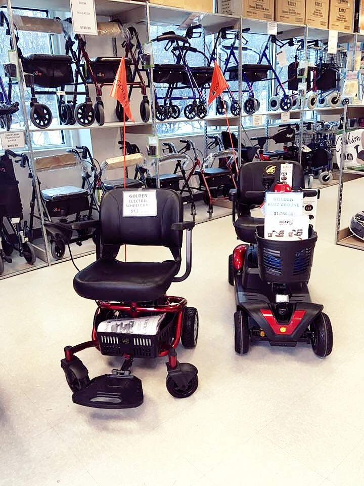 Senior Medical Supplies Scooters