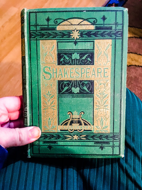O The Works of Shakespeare, including life, glossary, etc.
