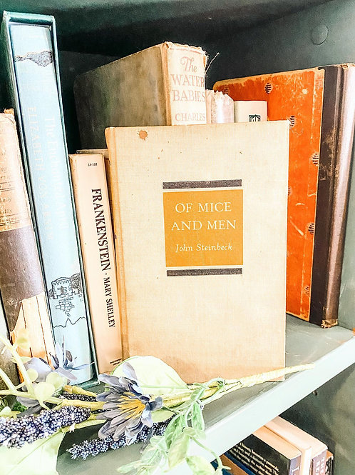 First Edition Of Mice and Men by John Steinbeck, 1937