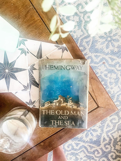 The Old Man and the Sea by Ernest Hemingway, First Edition 1952, 2nd printing