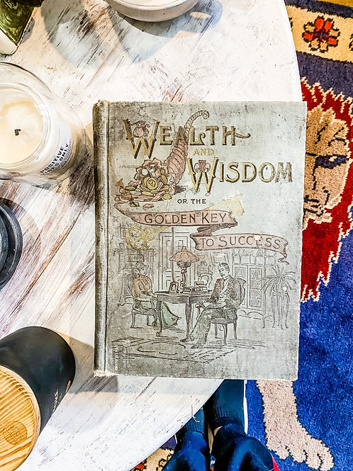 Wealth and Wisdom, or the Golden Key to Success, 1896