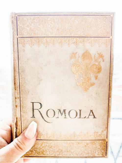 Romola by George Eliot, 1888