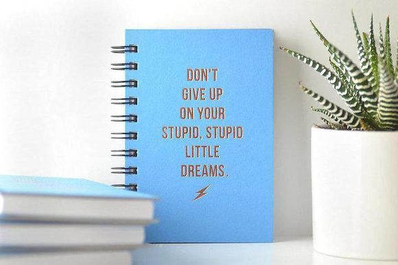 Stupid Little Dreams Journal