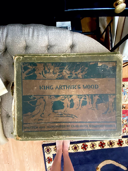 King Arthur's Wood (#161 of 350) by Elizabeth Stanhope Forbes (signed)