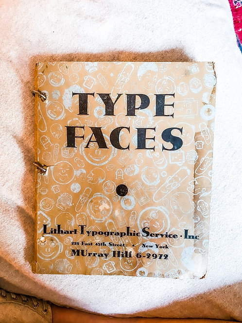Type Faces by Lithart Typographic Services Inc