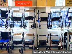 Rollators, Walkers and Canes