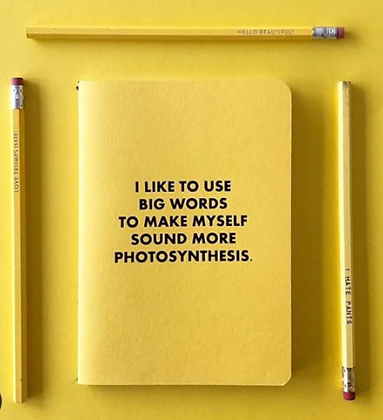 Big Words Photosynthesis Journal
