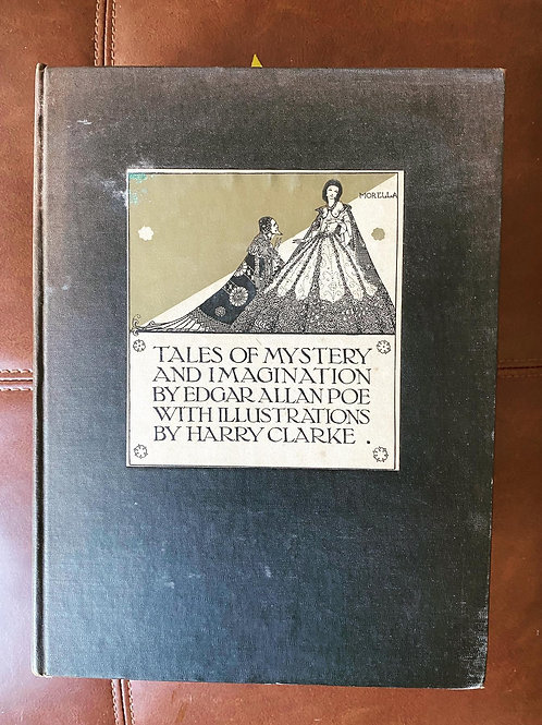 Tales of Mystery & Imagination by Edgar Allan Poe, Illustrated First Ed. 1933