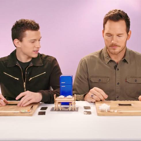 TasteMade Tiny Talk - Chris Pratt and Tom Holland
