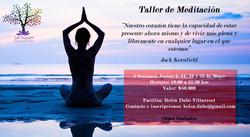 Taller meditación mayo