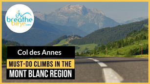Col des Annes from Les Grand Bornand