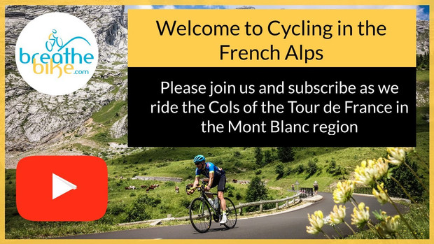 Welcome to cyclling in the French Alps