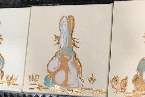 """4"""" x 4"""" Bunny"""