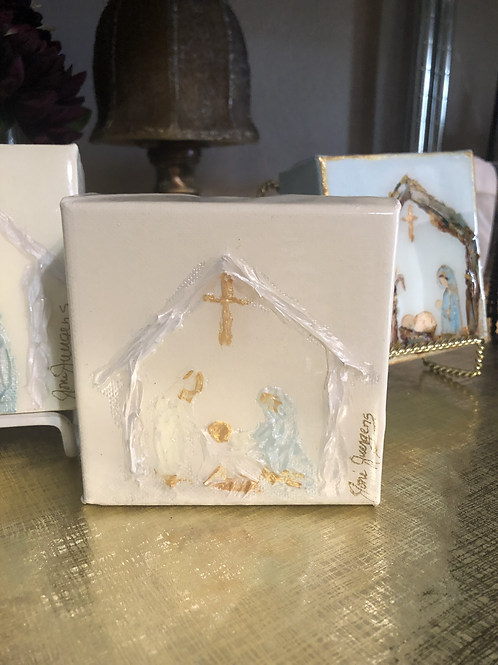 "4""x 4"" Nativity"