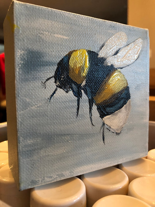 "6""x 6"" Mr Bumble Bee"