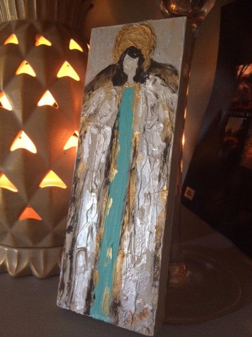 Angel on Wood