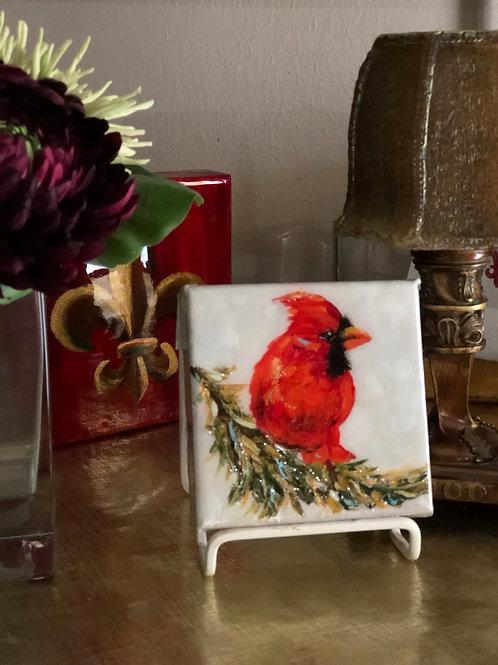 """4"""" x 4"""" Cardinal"""