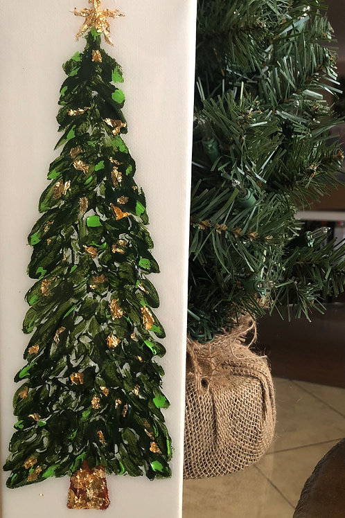 "4""x12"" Christmas Tree"