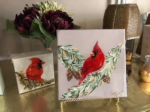 """6"""" x 6"""" Cardinal"""
