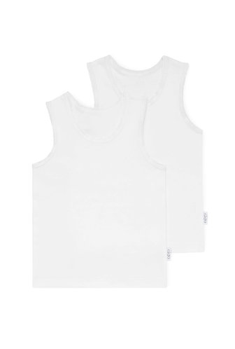 SINGLET Organic Ribbed 2 pc Cosy SIZE 000