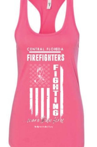 Womens Tank - Fighting More Than Fires flag