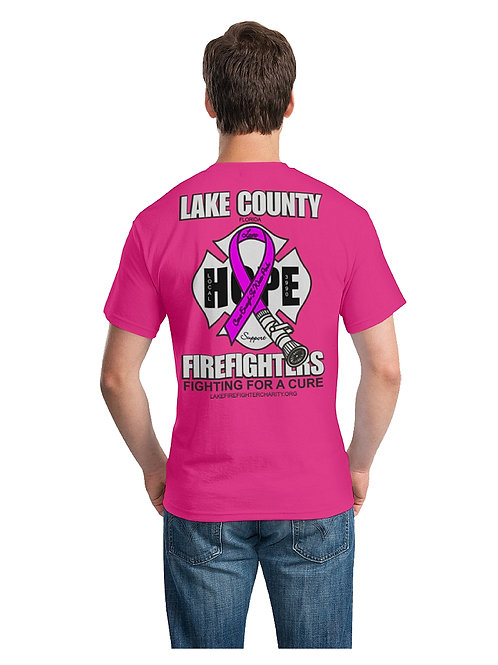 Hope Pink Firefighters T-shirt