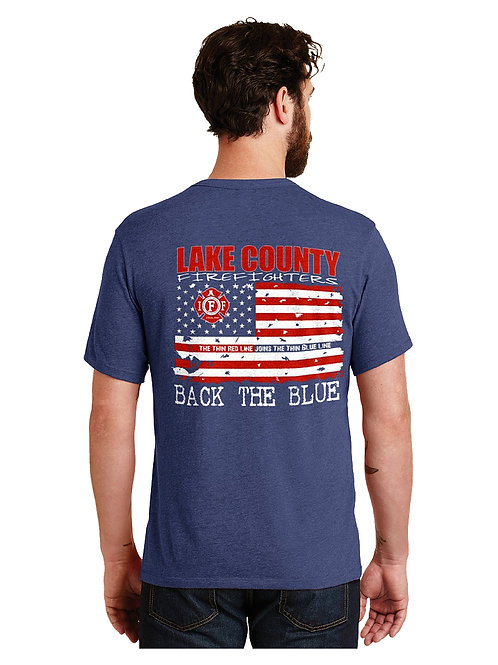 Lake County Backs the Blue T-Shirt