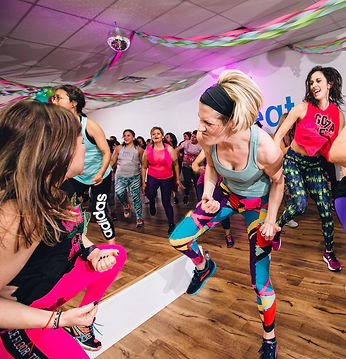 virtual zumba fitness class at z sweat. release stress, lose weight, dance to the music, loose yourself, have fun, workout, sweat.