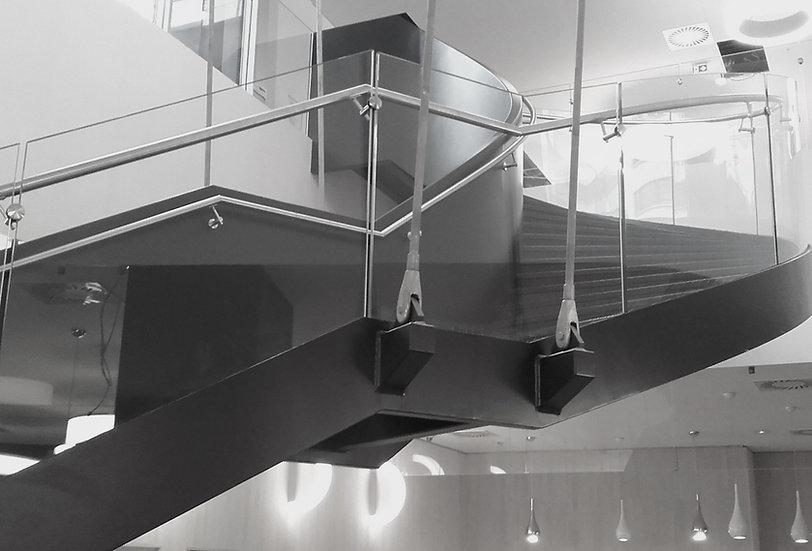 Bâtiment Escalier Paris