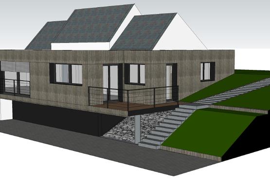Rénovation et extension d'une Habitation en Région Centre