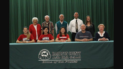 Leslie Drone signing with USI