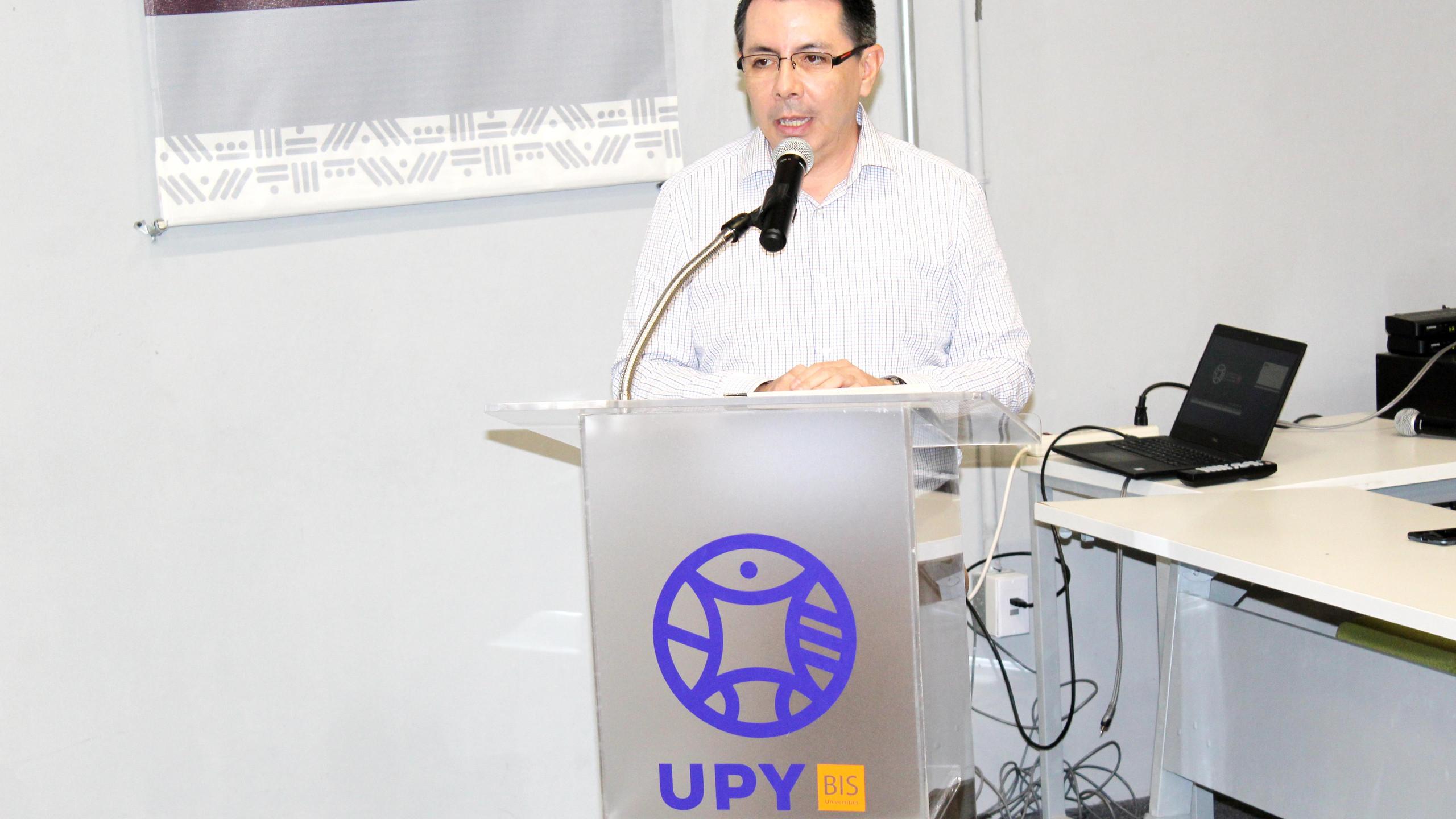 Dr. Gildardo Sánchez Ante, Rector UPY