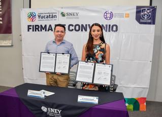 SNEY y UPY crean alianza para brindar más oportunidades a la juventud yucateca