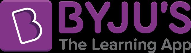 The logo of Byju's