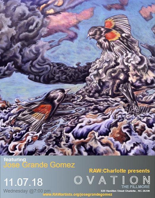 Jose Grande Gomez-RAW Charlotte presents