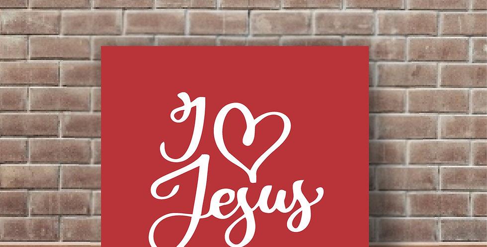 Qd I LOVE JESUS
