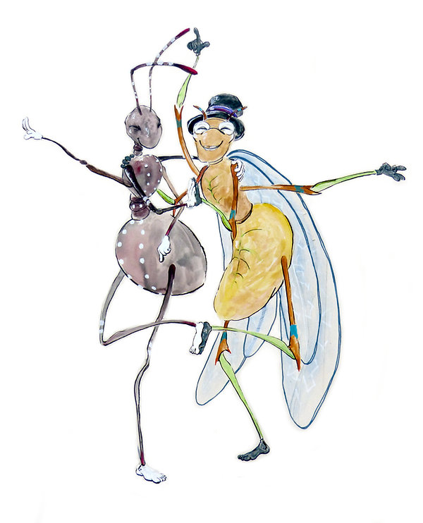 la fourmi et la cigale.JPG