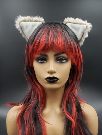 Tan cat ears