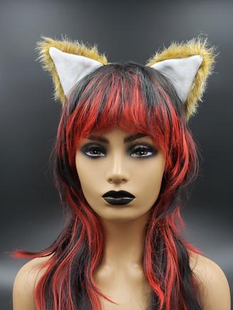 Owl brown cat ears