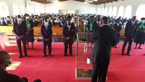 MALAWI UNION PRESIDENT ORDAINS SIX PASTORS