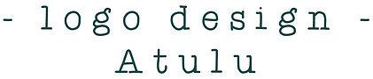 titre logo design atulu.JPG