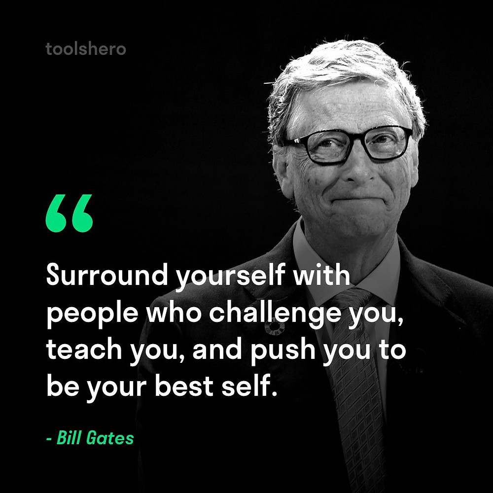 bill gates quote about success