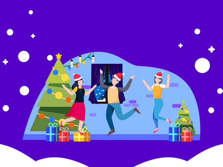 10 Super-fun Ideas To Nail The Virtual Office Holiday Party 2020
