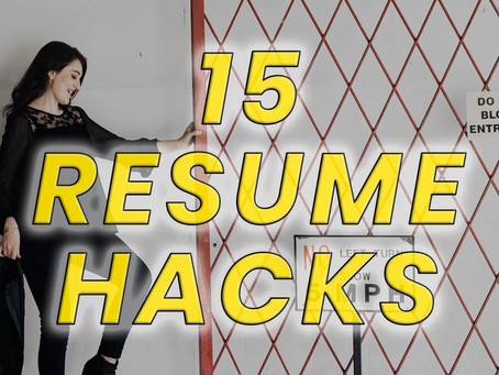 These 15 Resume Hacks Will Help You Land Any Job